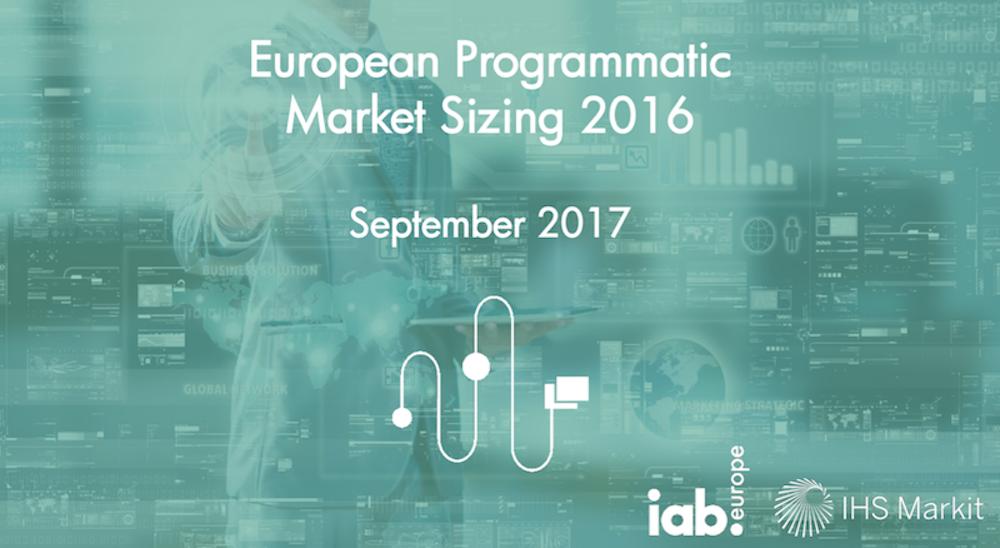 Etude IAB : Le marché du programmatique en Europe