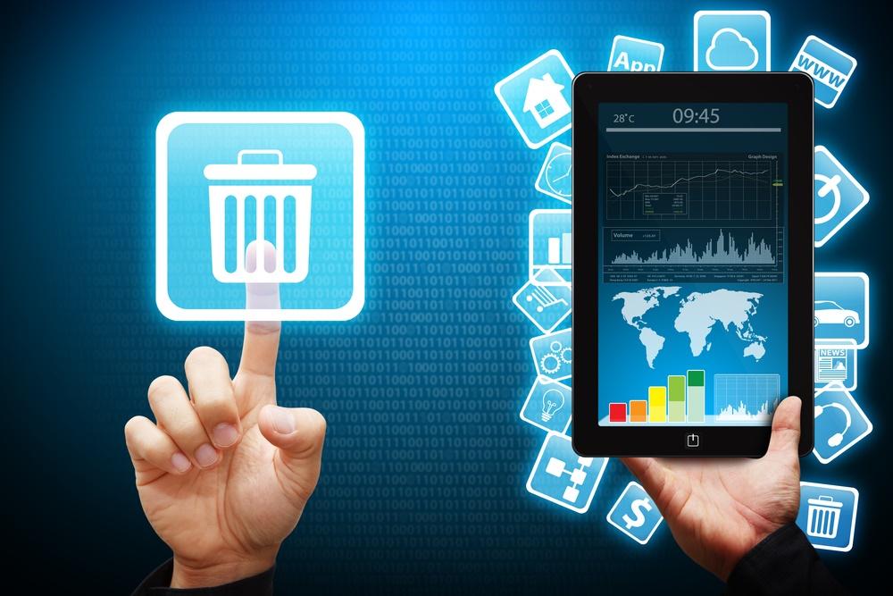 Etude 47 pour cent des utilisateurs effacent une application de marque après une seule utilisation