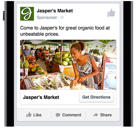 Nouvelles annonces géolocalisées et nouveaux formats d'extension d'Audience «in Apps» chez Facebook