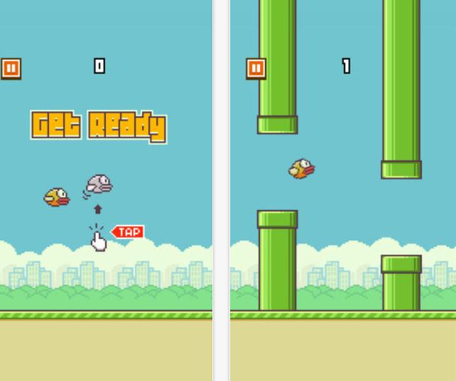 Flappy Bird : le jeu mobile le plus dur du monde ?