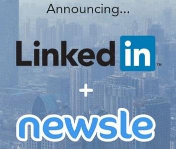 Linkedin rachète Newsle un service d'Alertes sociales