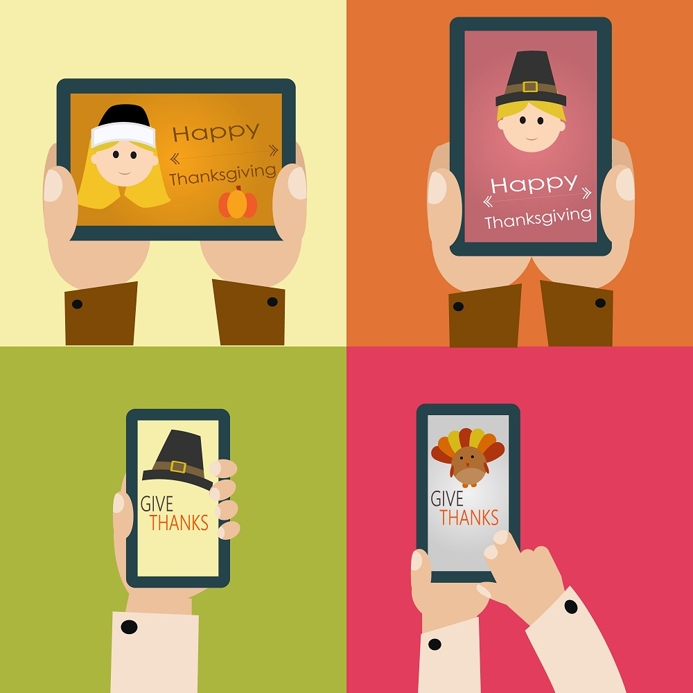 Thanksgiving: 52 % du trafic online sur mobile et 32 % des ventes