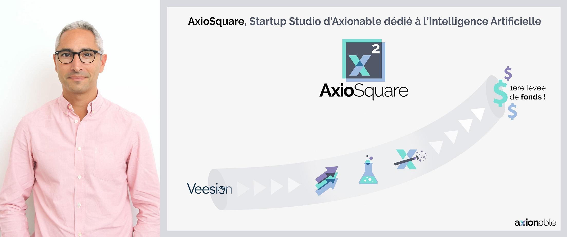 AxioSquare, Startup Studio d'Axionable dédié à l'Intelligence Artificielle