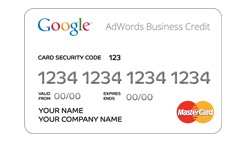 adwords business credit