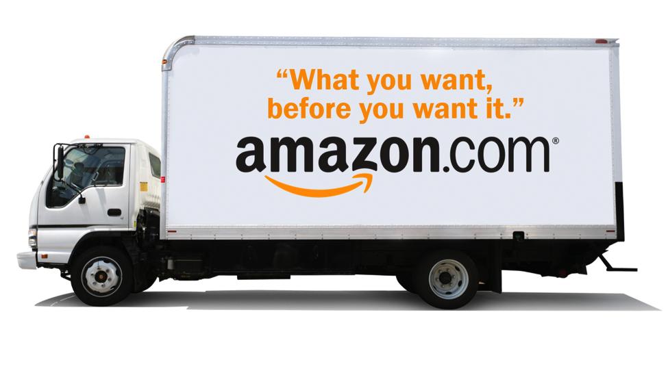 amazon d pose un brevet pour des imprimantes 3d dans des camions de livraison viuz. Black Bedroom Furniture Sets. Home Design Ideas