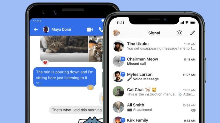 Signal : 10 choses à savoir sur l'app de messagerie qui explosent