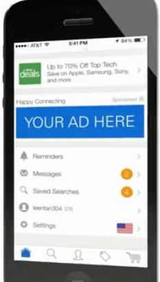 Ebay va lancer son propre réseau de publicité mobile
