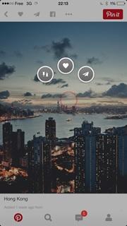 ferpection interface utilisateur mobile