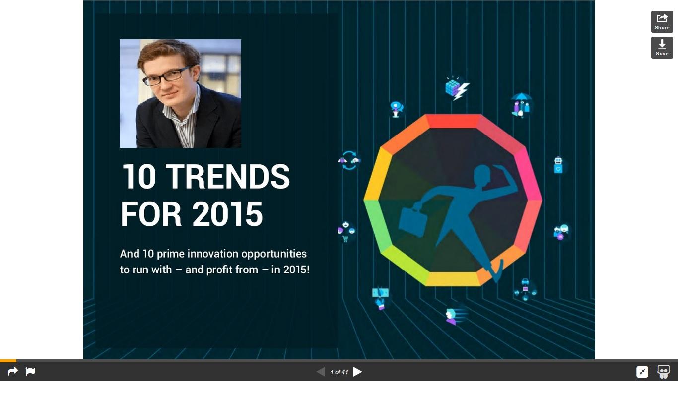 Le Web 2014 : 10 tendances pour 2015