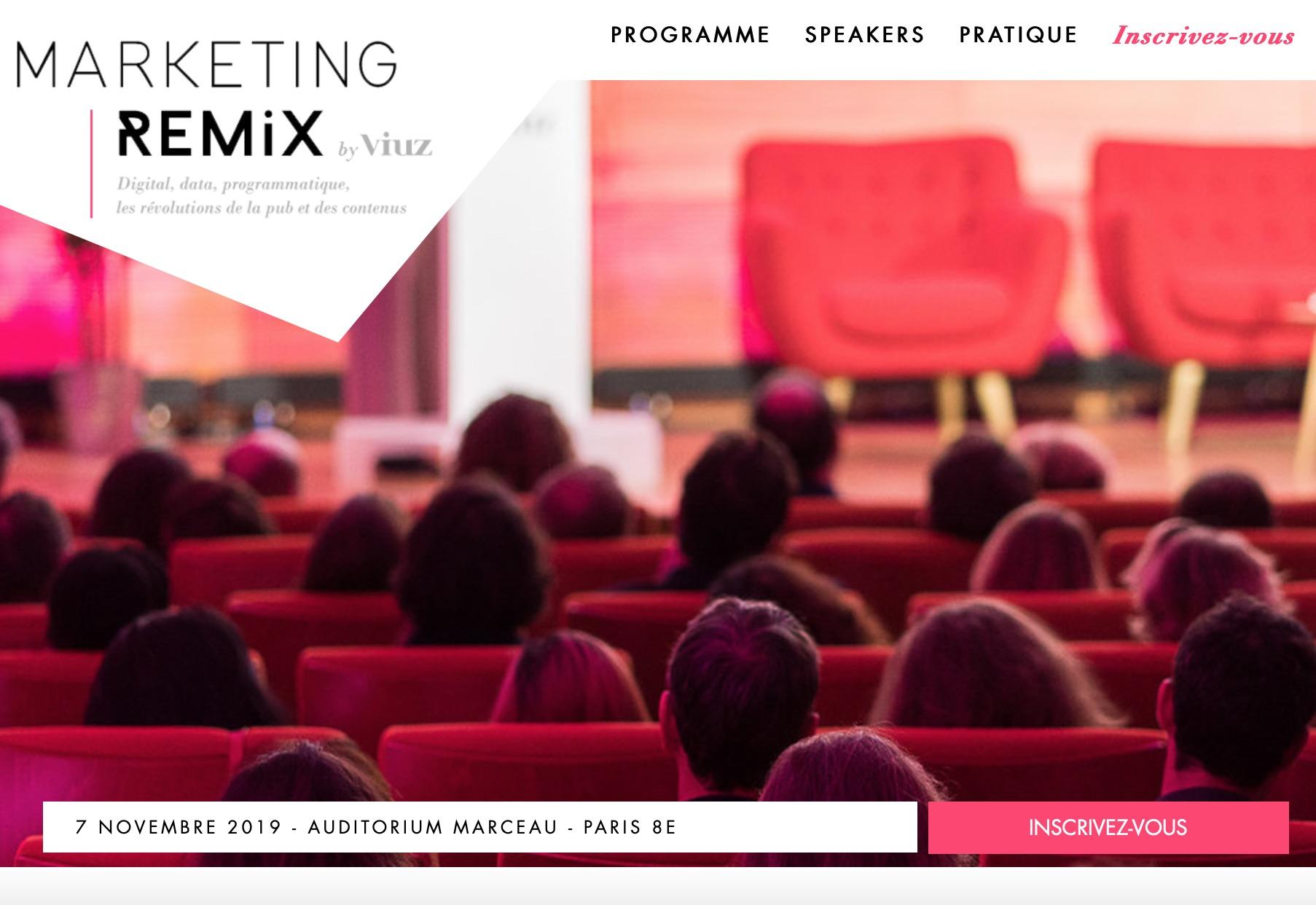 Marketing Remix 2019 : demandez le programme !